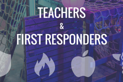 20% Discount for Teachers & First Responders