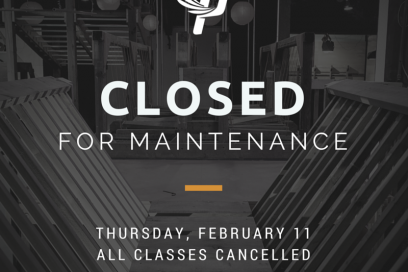 Closed for Maintenance Feb 11th