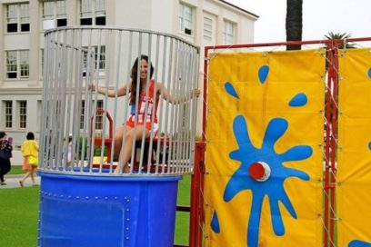 We're Back with more Dunk Tank and Snow Cones!