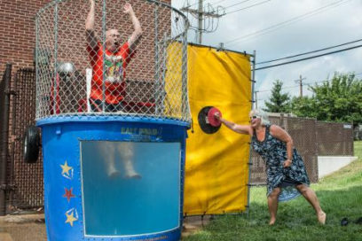 Help Your Friends Beat the Sweltering Heat – Dump them in the Dunk Tank!