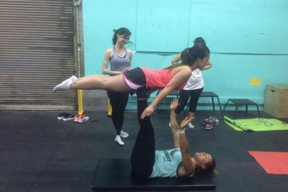 The Ladies of RAW TO Turned into Acro Superheroes