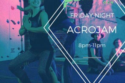 Introducing Friday Night ACROJAM!