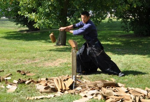 Tameshigiri: The art of Sword Cutting Workshop